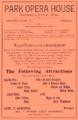 1886 Park Opera House advert Jacksonville Florida.png