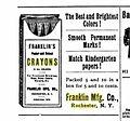 1895 Franklin Crayons Ad.jpg