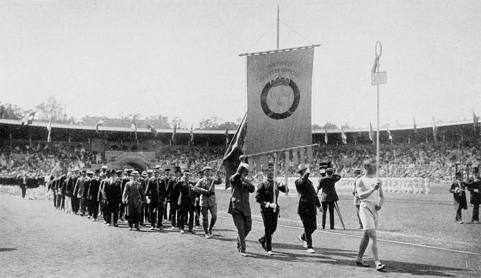 1912 Opening ceremony - Sweden