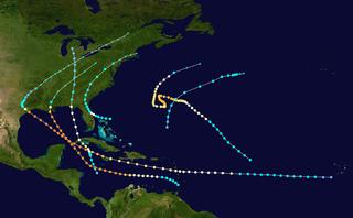 1915 Atlantic hurricane season hurricane season in the Atlantic Ocean