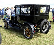 1922 ford model t value