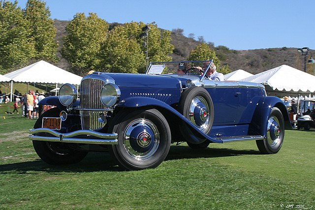 1930 Duesenberg J Murphy Disappearing Top Torpedo Convertible Coupe - fvl (4609844035)