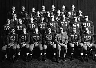 1953 Michigan Wolverines football team - Image: 1953 Michigan Football Team