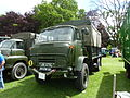 1960s military Commer truck with TS3 engine, Abergavenny steam rally, 2015.jpg
