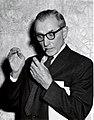 1963. Dr. R.E. Balch after presenting WFIWC keynote address. Sheraton Hotel, Portland, Oregon. (34743812915).jpg