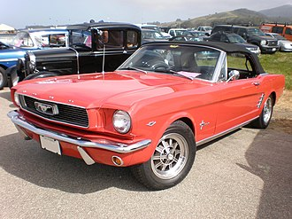 Ford Mustang (first generation) - 1966 Ford Mustang