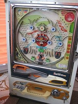 1970's pachinko machine (3714670178).jpg