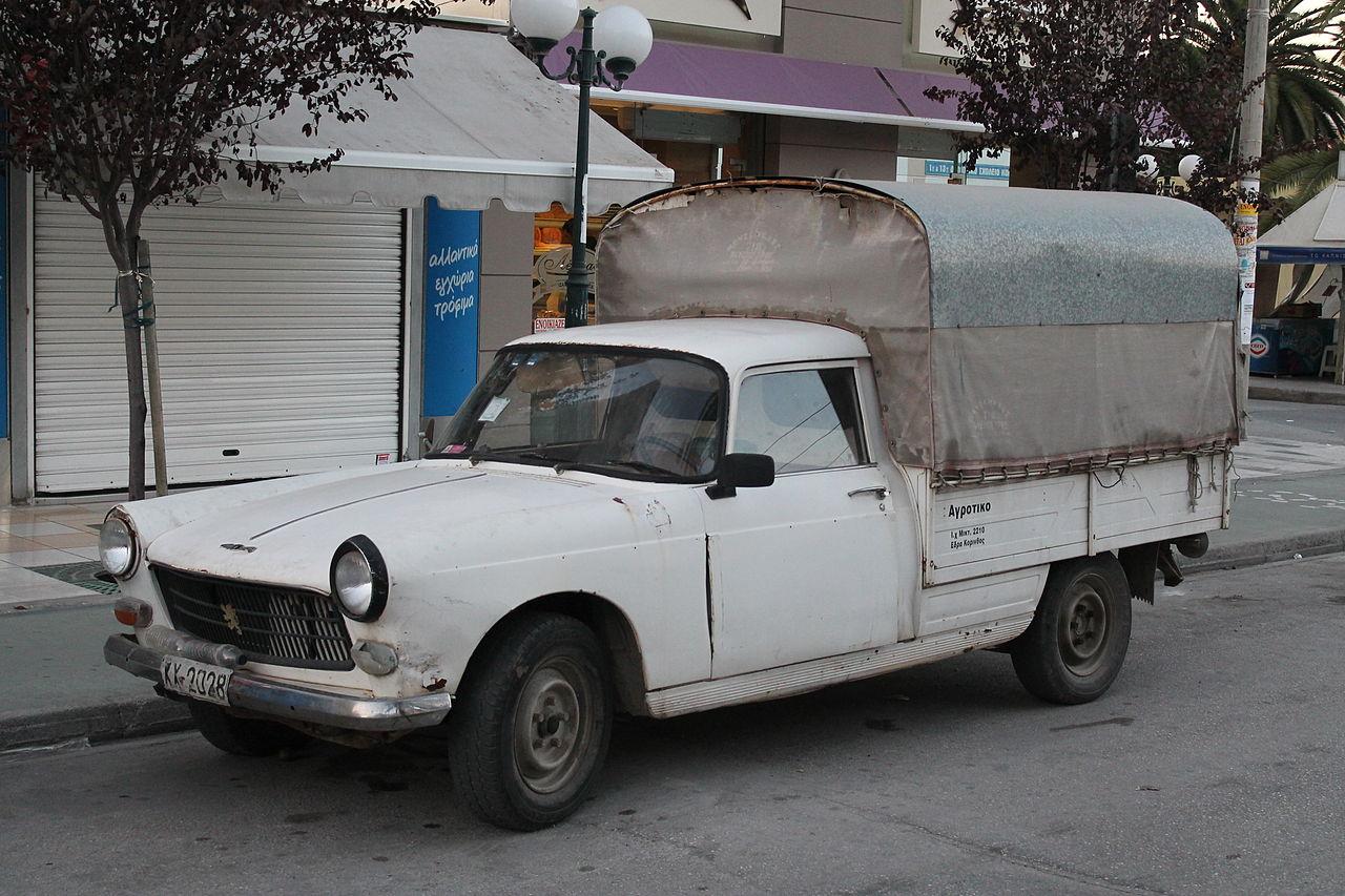 File:1970s Peugeot 404 pick up van (10543100504).jpg ...