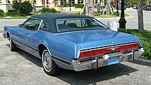 1973 Ford Thunderbird Rear View