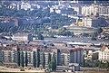 197L07180890 Blick vom Donauturm, Handelskai, links Lassallestrasse, Praterstern, Beginn der Verbauung Bahnhof Wien Nord.jpg