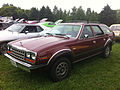 1983 AMC Eagle wagon Vintage Red-3 Mason-Dixon Dragway 2014.jpg