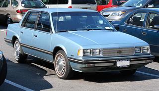 Chevrolet Celebrity Motor vehicle