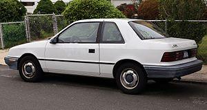 Dodge Shadow - 1992 Plymouth Sundance America (rear)
