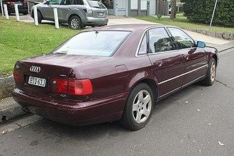 Audi A8 - Pre-facelift Audi A8 4.2 quattro