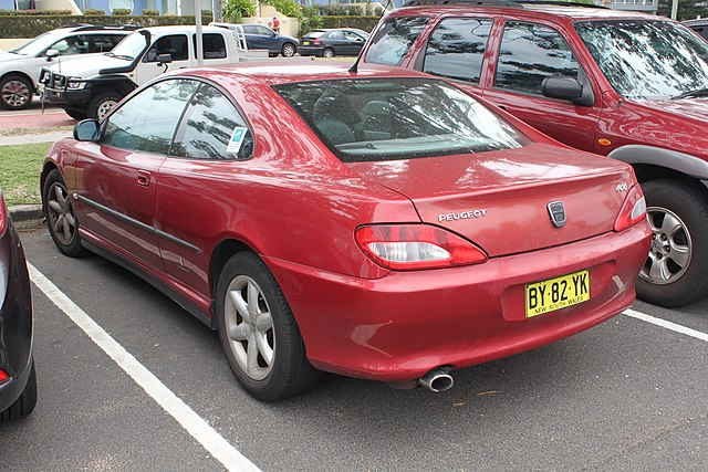 File1999 Peugeot 406 D9 Coupe 23442456445g Wikimedia Commons