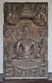 1st Jain Tirthankara Rishabhanatha - Circa 8th Century CE - Barsana - ACCN 18-1504 - Government Museum - Mathura 2013-02-22 4697.JPG