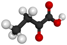 2-Oxobutanoic acid 3D ball.png