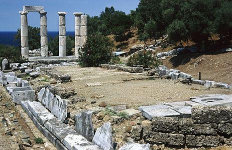 Sanctuary of the Great Gods, Paleopolis, Samothrace island, Thrace Greece