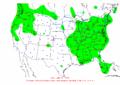 2003-01-03 24-hr Precipitation Map NOAA.png