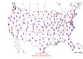 2006-02-26 Max-min Temperature Map NOAA.png