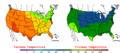 2006-05-18 Color Max-min Temperature Map NOAA.png