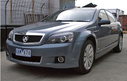 Holden Caprice full size luxury vehicles