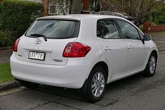Toyota Auris - Pre-facelift: Toyota Corolla Conquest 5-door (Australia)