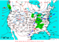2009-04-19 Surface Weather Map NOAA.png
