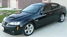 Pontiac G8 Wikipedia