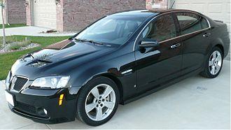 Pontiac G8 - 2009 Pontiac G8 GT.