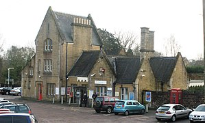 Crewkerne railway station - Image: 2009 at Crewkerne station main building