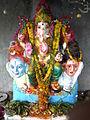 2011 Vinayaka Chavithi kotturu Ganesh in Chinalingala.jpg