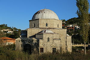 Lead Mosque, Shkodër - South side of the mosque