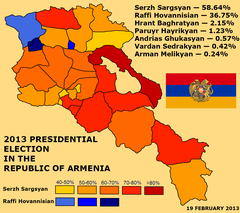 2013 Armenian presidential election map.png