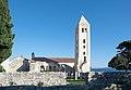20140505 Rab exBasilika St John Evangelist tower.jpg