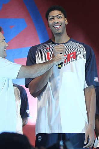 2014 United States FIBA Basketball World Cup team - Image: 20140814 World Basketball Festival Anthony Davis (2) cropped