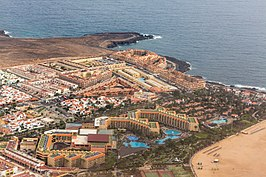 20141218 - Castillo Caleta de Fuste - Hotels and Beach - Air Photo by sebaso.jpg