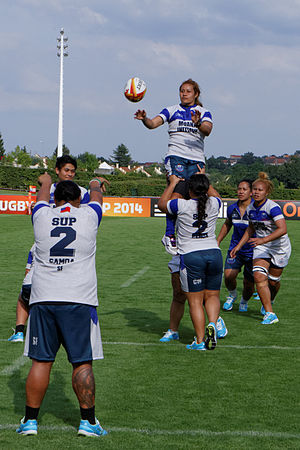 Samoa women's national rugby union team - Samoa at the 2014 Women's Rugby World Cup.