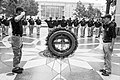 2015 Law Enforcement Explorers Conference black and white with wreath.jpg