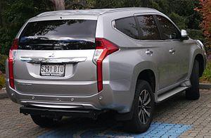 Mitsubishi Challenger - Mitsubishi Pajero Sport GLE (Australia)