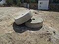2017-08-21 Mill stones, Malpique hill windmill, Malpique, Albufeira.JPG