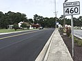 2017-08-28 11 08 24 View north along Maryland State Route 460 (Hall Highway) at Maryland State Route 413 (Maryland Avenue) in Crisfield, Somerset County, Maryland.jpg