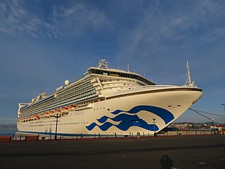 <i>Star Princess</i> (2001) Cruise ship operated by Princess Cruises