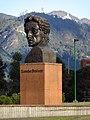 2017 Bogotá busto monumento en el Parque Simón Bolívar.jpg