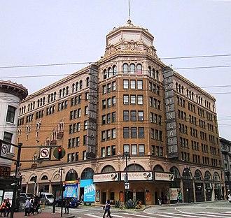 Theatre District, San Francisco - Image: 2017 Golden Gate Theatre