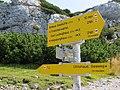 2018-08-29 (160) Hiking fingerposts on the Rax, Austria.jpg