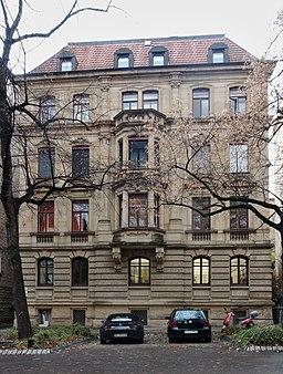 Johannesstraße in Stuttgart