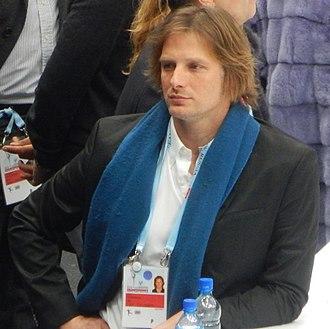 John Zimmerman (figure skater) - Zimmerman in 2018