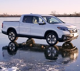2018 Honda Ridgeline Rtl T On Ice Jpg
