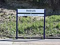 2018 at Redruth station - change for buses to Helston and Culdrose.JPG